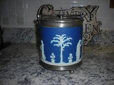 GORGEOUS ANTIQUE WEDGWOOD BISCUIT JAR