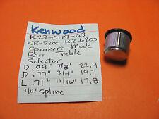 Kenwood k23-0119-03 Bass Treble Regler kr-4200 kr-5200 kr-6200 kr-8340 kr-8840