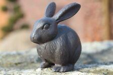 Gusseisen Hase groß Garten Deko Figur Skulptur Ostern