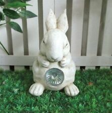Outdoor solar bunny rabbit ideal garden patio ornament fun figure feature bunny