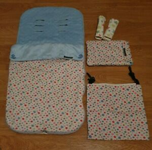 Customised Cath Kidston Buggy Footmuff And Matching Items by SewPrettyBaby.co.uk