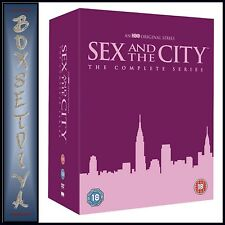 SEX AND THE CITY - THE COMPLETE COLLECTION - SEASONS 1  - 6  **BRAND NEW DVD **