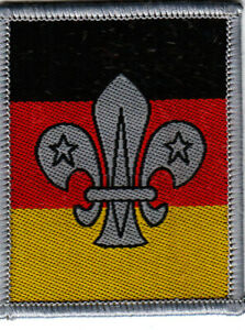 Boy Scout Badge  BRITISH SCOUTING Abroad Germany