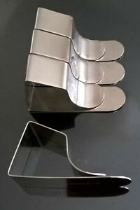 2-12 British Steel Tablecloth/Tablecover/Drawing Board Clips Free Post
