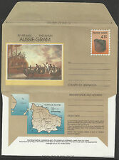 NORFOLK IS 1989 MUTINY ON THE BOUNTY SHIPS AUSSIE-GRAM MINT Unused