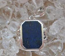 Anhänger Silber Herren Edelstein Lapis Lazuli Türkis Koralle Schutz Glück T95 Unikate & Goldschmiedearbeiten