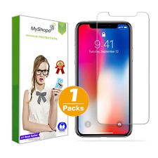 3x Glass Foil Glass For IPHONE X XR XS Max Real Glass Protection Film 9H