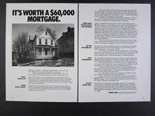 1980 Fannie Mae Mortgage Housing Rehabilitation Loan Program vintage print Ad