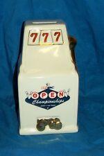 Piggybank USBC Open Bowling Championships Slot Machine Souvenir 2009 Las Vegas
