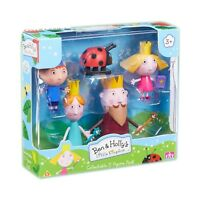Ben & Holly 5 Figure Pack Collectable Articulated Characters Toy