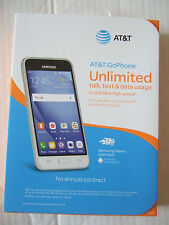 NEW Sealed pkg AT&T GoPhone SAMSUNG GALAXY EXPRESS 3 Android 4G LTE 8GB GSM