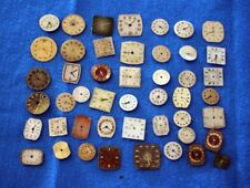 30 VINTAGE STEAMPUNK WATCH FACES, CRAFT ART JEWELLERY MAKING