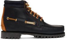 Aime Leon Dore Navy Timberland Edition 7‑Eye Lug Sole Boots Size 10 M /EU 44