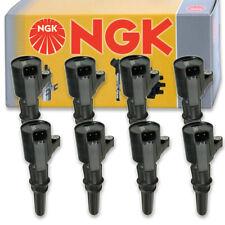 8 pcs NGK Ignition Coil for 1999-2016 Ford E-350 Super Duty 5.4L V8 - Spark pf