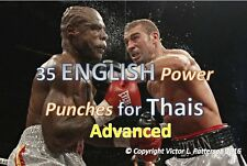 35 English Power Punches for Thais--Advanced English Lesson on DVD