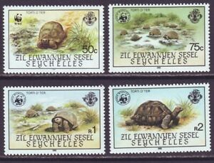 Zil Elwannyen Sesel 1985 SC 106-109 MNH Set Turtle