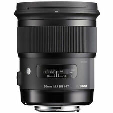 Sigma Auto & Manual Focus Camera Lenses 50mm Focal