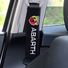 X2 Seat Belt Cover pads pour Fiat 500 Abarth-UK