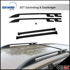 Dachreling Dachträger SET für VW Amarok ab 2010 Schwarz Sport mit TÜV / ABE