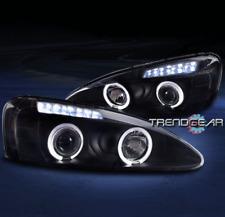 2004-2008 PONTIAC GRAND PRIX HALO LED PROJECTOR HEADLIGHTS LAMP BLACK 2006 2007
