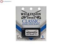 30 Wilkinson Sword CLASSIC Double Edge Razor Blades - 6 packs of 5 = 30