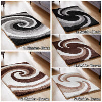 Large Small Low Cost Rugs Cheap Modern Swirl  Design Fast & Free Delivery Rugs