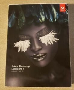 Adobe Photoshop Lightroom 4 - Win/Mac with Serial Number Authentic....Free Ship!