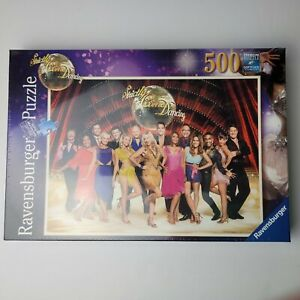 Ravensburger Strictly Come Dancing 500 Piece Jigsaw Puzzle, Premium SoftClick