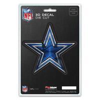 Dallas Cowboys Die Cut 3D Logo Decal [NEW] NFL Car Sticker Emblem Truck