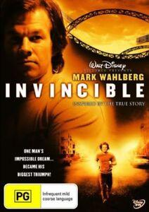 Invincible (DVD, 2007), NEW SEALED AUSTRALIAN RELEASE REGION 4