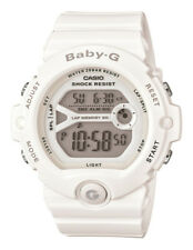 Casio Sport Digital Ladies Baby-g Japan White Watch Bg-6903-7b