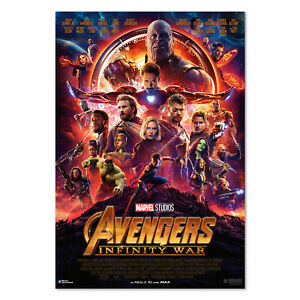 Avengers Infinity War Movie Poster - 2018 Film - High Quality Prints