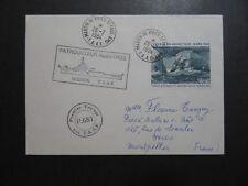 French Antarctic 1984 TAAF Albatros Cover / SC# C78 - Z10271