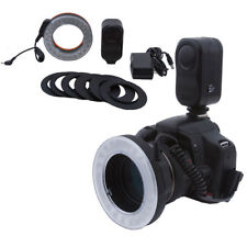 Bestlight 48 LED Rechargeable Camera Macro Ring Light + 6 Adaptor Rings