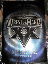 WWE WRESTLEMANIA 20 SOUVENIR ARENA EDITION PROGRAM 2004 MADISON SQ GARDEN NYC