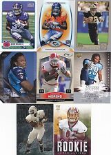 NFL Running Back RB Rookie card RC lot of 8 -Ronnie Hillman Chris Johnson Moreno