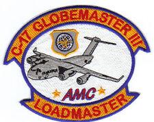 USAF PATCH, C-17 GLOBEMASTER lll  LOADMASTER         Y
