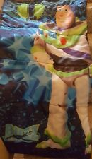 Toy Story Buzz Lightyear Blue Kids Sleeping Bag - Child Sz