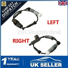 2X FRONT LEFT + RIGHT ABS WHEEL SPEED SENSOR FOR BMW 3 SERIES E46 1998-2006 UK
