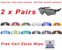 2 x Polarized Replacement Lenses For-Oakley Radar EV Path 9208 Sunglasses 4K HD+