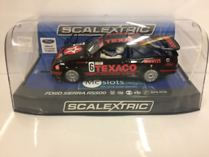 Scalextric C3738AE Autographe Séries Ford Sierra RS500 Argent Soper Non 6