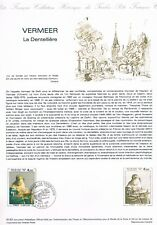 Document Officiel   1982 30   Vermeer  Yv N° 2231