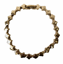 Bracelet Brand New Yellow Gold Plated 7in.