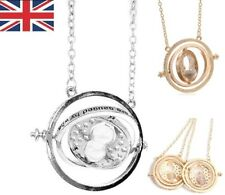 Harry Potter Time Turner Hermione Granger Rotate Retro Necklace Pendant Gift New