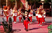 Vtg 1960s Disneyland Postcard Mickey Mouse & Disneyland Band 1-270 Unposted