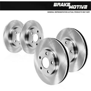 For 1999 2000 2001 2002 2003 2004 Alero Pontiac Grand Am Front+Rear Brake Rotors