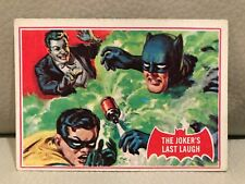 "1966 TOPPS BATMAN (RED BAT SERIES) ""THE JOKER'S LAST LAUGH"" TRADING CARD #26A."
