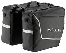 Cycling Pannier Bag Lotus SH4-104G Commuter Double 18L Rear Back Rack Bag