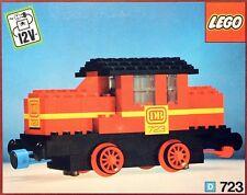 Lego 12V Trains 723 Diesel Locomotive  New SEALED