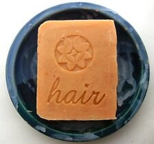 Lavender Sweet Orange Shampoo Bar - Vegan Jojoba by Aquarian Bath